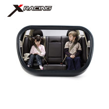 Xracing NM3690 black car baby mirror with straps for mounting Rear seat mirror for babies