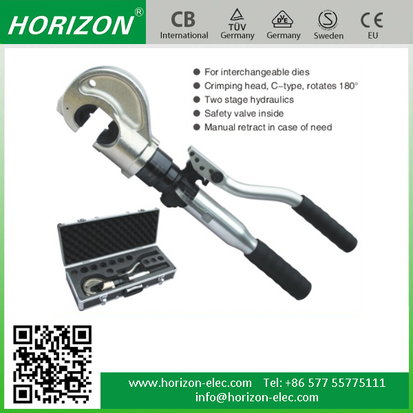 HT-12030 safety valve system inside integral unit zupper hydraulic crimping tool
