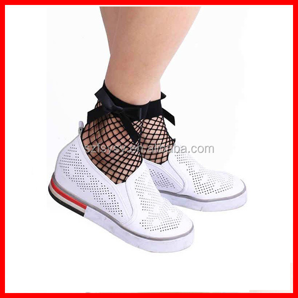 2017 Sexy Black Mesh Sock With Butterfly Knot For Modern And Fashional Ladies