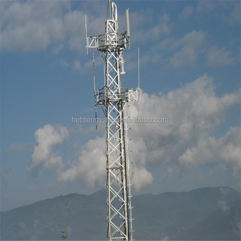 Guy Wire Tower Rohn Microwave Antenna Radio Tower - Buy Monopole Antenna  Tower,Triangular Radio Telecom Tower,Guy Mast Tower Product on Alibaba com