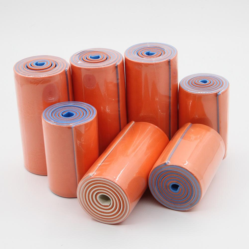 โพลิเมอร์คุณภาพสูงที่มีสีสันฉนวนกันความร้อนหักแขนสายคล้องคอม้วนขายส่ง