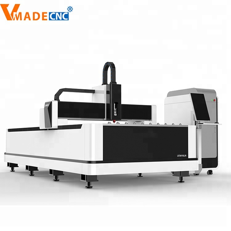 CNC Sheet Metal <strong>Laser</strong> Cutting Machine Price/Fiber <strong>Laser</strong> Cutting 500W 1KW 2KW 3KW from China vmade factory