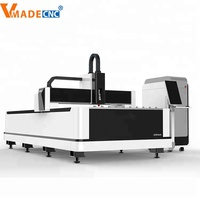 CNC Sheet Metal Laser Cutting Machine Price/Fiber Laser Cutting 500W 1KW 2KW 3KW from China vmade factory