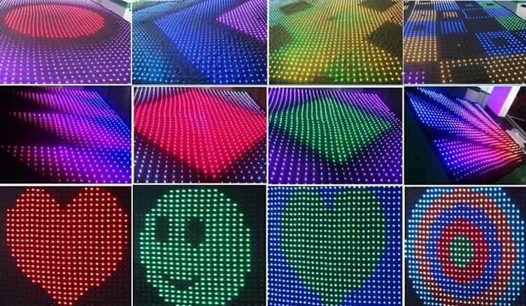 Cheap P40 P50 P100 Rgb Led Matrix Flexible Dot Matrix Display ...