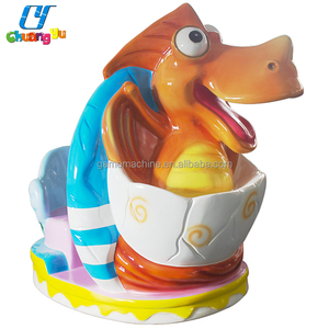 China Used Coin Operated Swing Machines Dinosaur Kiddie Rides For Sale