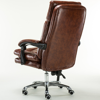 luxury genuine leather recliner executive chair office chair massage