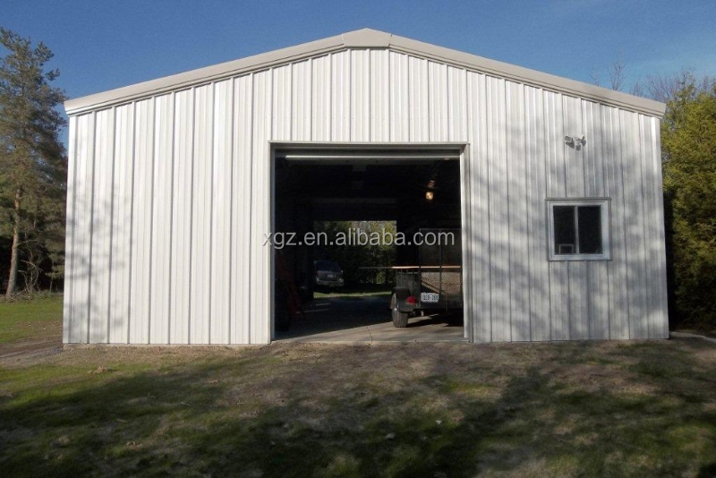 Modern Easy Assembly Prefab Industry Steel Structure Factory For Car Repair