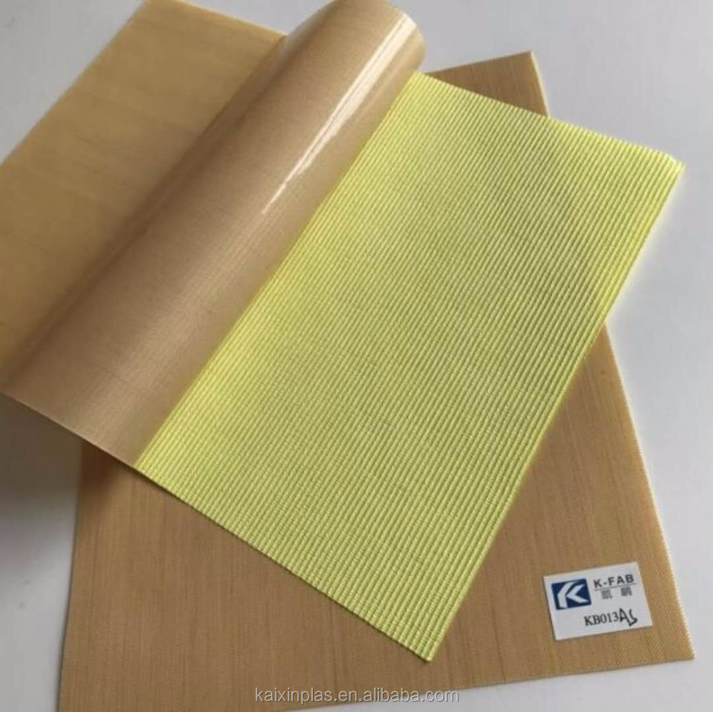 Teflon tape adhesive backed fabric