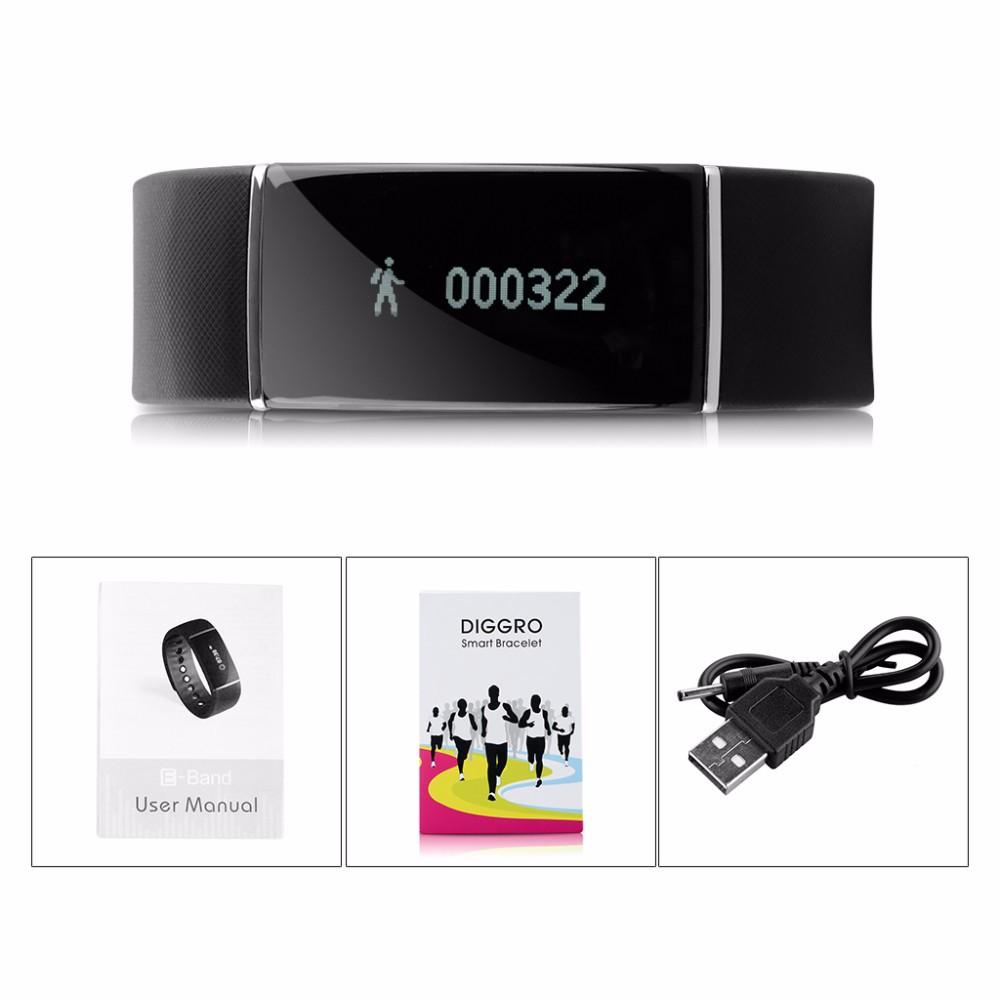 S55 Smart Bracelet Ip67 Waterproof Bluetooth 4 0 Pedometer