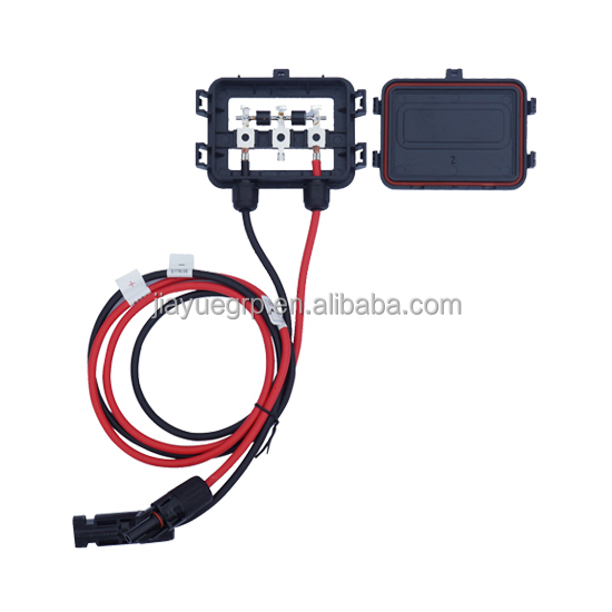220W to 280W Solar Junction Box waterproof IP67 for Solar Panel connect PV junction box solar cable connection