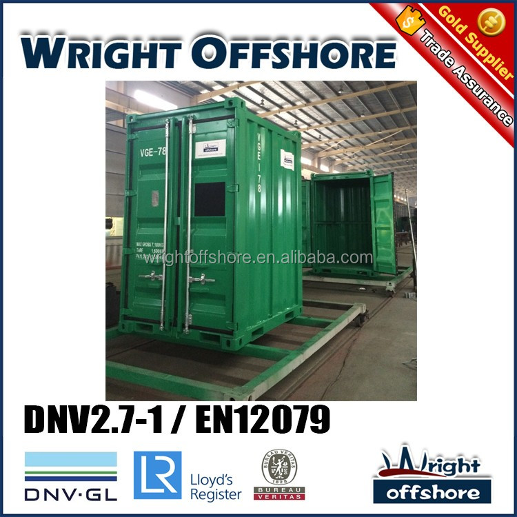 DNV equipment 6Ft Offshore Mini container, DNV2.7-1/En12079, DNV-GL,LR,