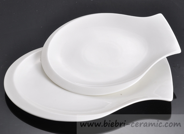 Super White Porcelain Fine Bone China Fish Plates Dishes For Hotel And Restaurant Porcelain Plate : plastic fish plates - pezcame.com