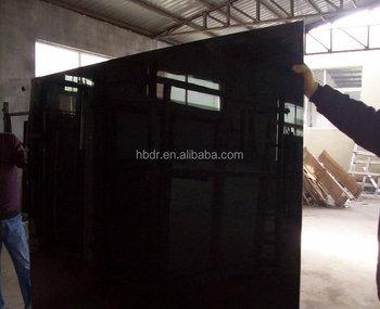 Mm decorative black white posteriore in vetro verniciato vernice