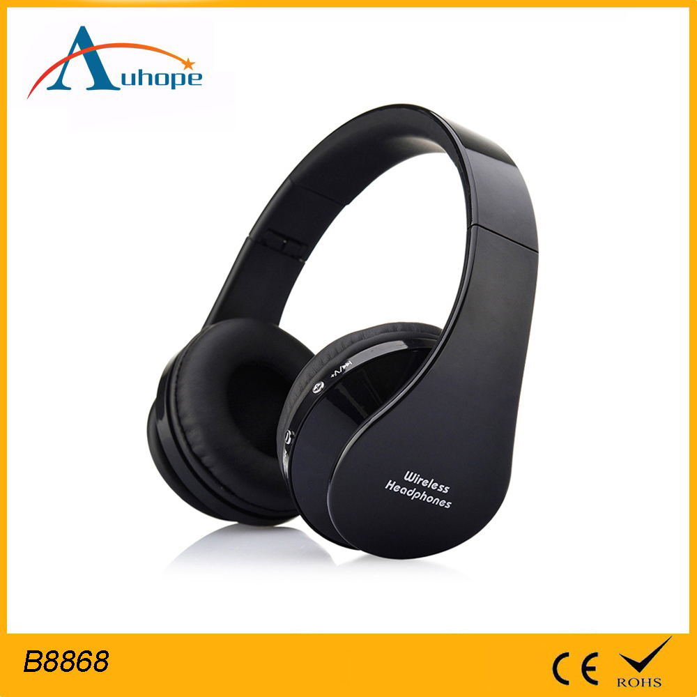 Super Comfortable foldable Bluetooth Over Ear Headphones with Mic, Wireless and Wired Dual Mode headphones