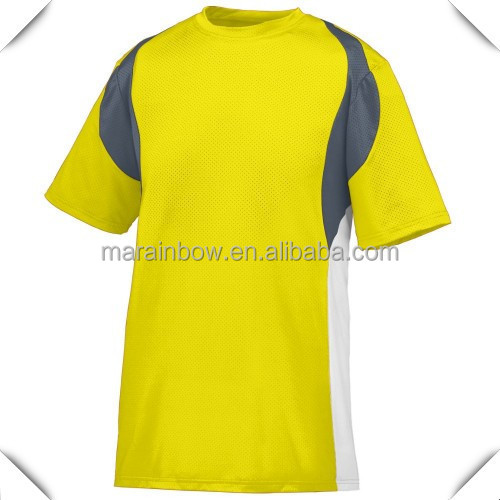 Custom design 100 polyester safety green color dry fit for Cheap bulk custom t shirts