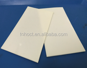 Insulation electrical ceramic sheet Zirconia / Alumina ceramic Substrate plate tile