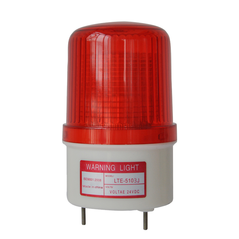 Alarm Lamp Dc 12v Led Flashing Lamp Security Alarm Strobe Signal Warning Light Siren With Acousto-optic Alarm System Sturdy And Durable