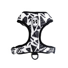 Cute Reversible Dog Harness Walking Halter - Best Designer Pet Harnesses For Extra Small Medium Large XL Dogs Plus Pug Breeds -