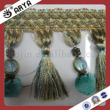 ONE Line beads and tassel Furnishing bead Fringe used for lamp,curtain accessories of home decoration