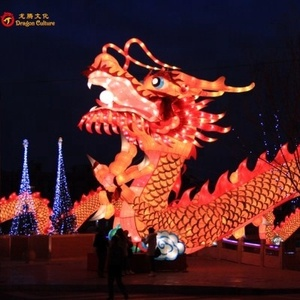 Shopping Mall Big Size Chinese Style Festival Dragon Lantern