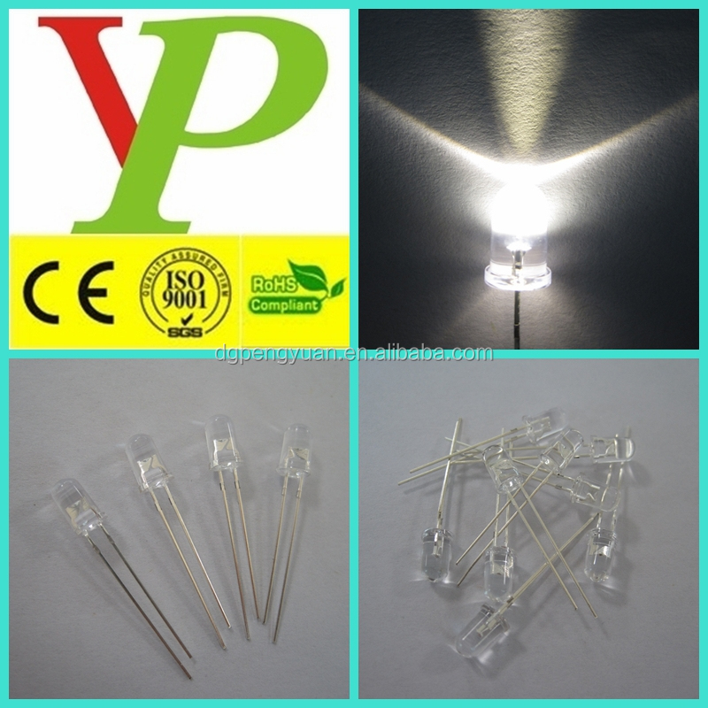 Lighting Accessories Logical 100pcs Led 5mm Flat Top Pink Wide Angle Urtal Bright Light Bulb Led Lamp Emitting Diodes Active Components Durable In Use