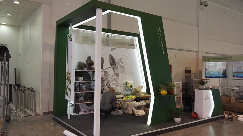 High quality exhibition display design trade show booth