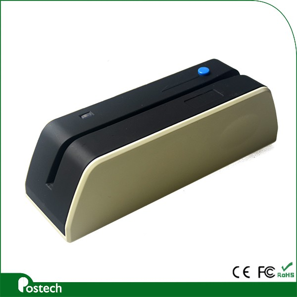 BTX6 magnetic card reader writer encoder with bluetooth support Mobile & PC tablets, software provided manufature in China
