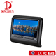 In car 9inch best dual screen portable dvd player with USB/SD