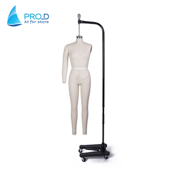 Ladies Quality Linen Mannequin Dress Form Hanger Mannequin For
