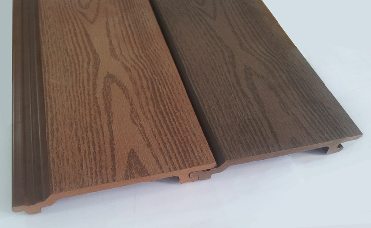 Wood Look Wall Panels Wood Plastic Composite Wall Cladding