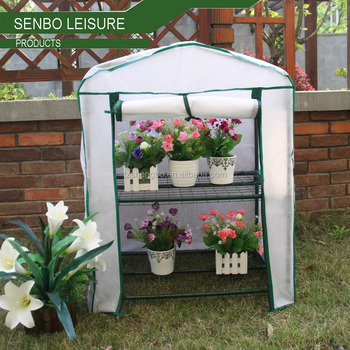 Mini Grow Bag Flower House Balcony Garden Greenhouse 2 Tier With Double Cover Product On Alibaba