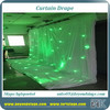 Professional! led fireproof cloth/ led starlit curtain