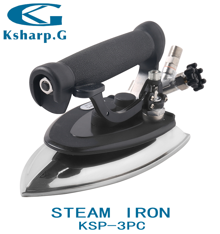 KSP-3PC Industrial Garment Presser Valve Type Steam <strong>Iron</strong>