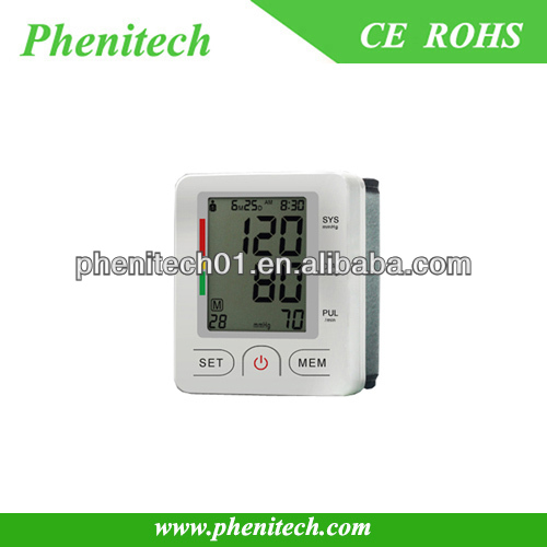 Bluetooth Blood Measuring Instrument wrist Blood Pressure Monitor Watch