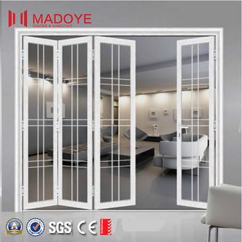 Innen Aluminium / Aluminium / Pvc Glas Schiebe- / Falttür Design ...