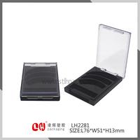 plastic packaging eye shadow plastic Case BOX Shantou Cosmetic Makeup Packaging