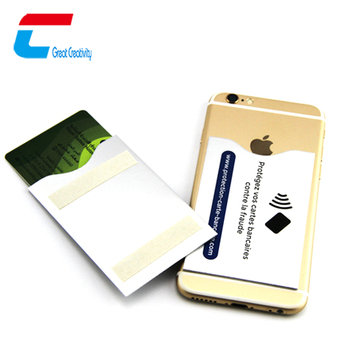 Carte Bancaire Om.Rfid Blocking 3m 300lse Adhesive Sticker Mobile Phone Back Cover