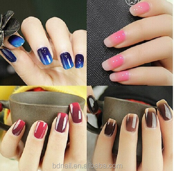 Colour Changing Uv Gel Temperature Change Nail Polish Thermo Color