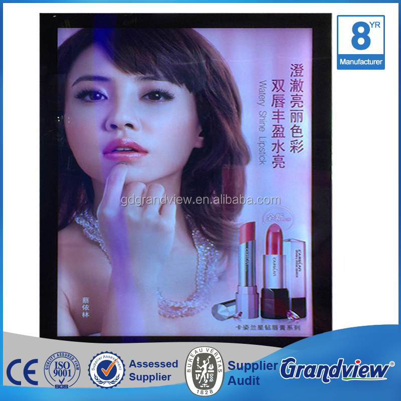 Advertising display menu Led slim magnetic light box