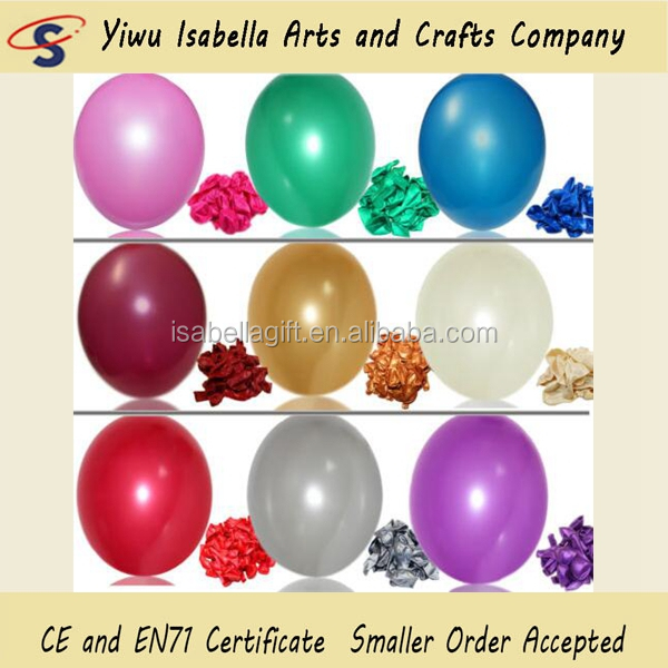 Wholesale Non Latex 12inch Globo Latex Free Rubber Pearl Round Balloon For Wedding Party Decoration