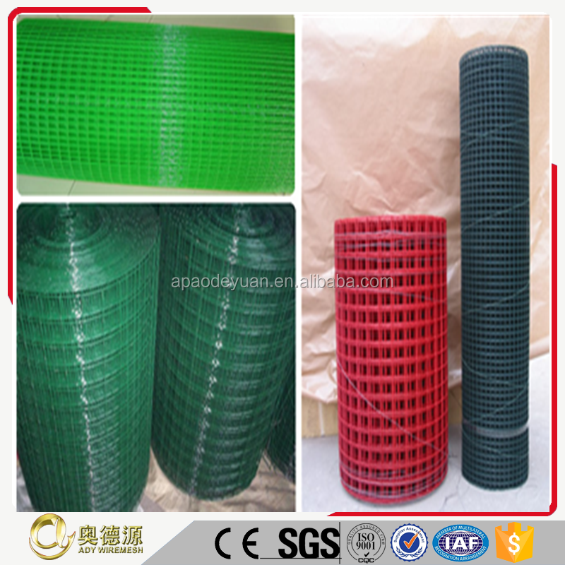 Pvc Coated Welded Wire Mesh For Plants Protection And Garden Fence Product On Alibaba
