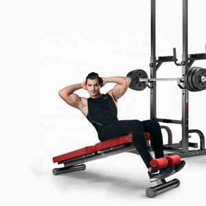 Free weight fitness gym equipment bench