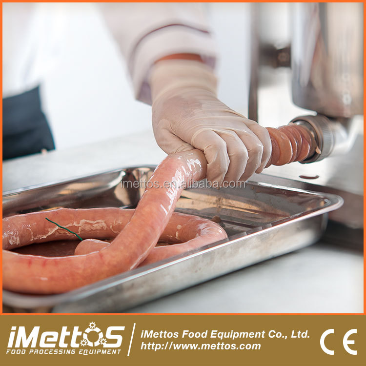 Hot sale Two speed iMettos sausage filler weston ss sausage stuffer parts 3L