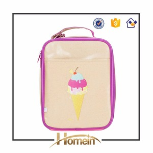 Ice Cream Easy Lunchboxes Insulated Lunch Box Cooler Bag
