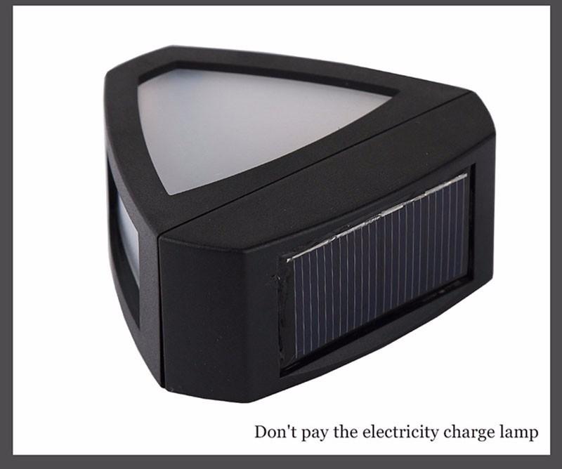 Home Lighting System Bracket Mounted Foco Solar Led Eterior ...