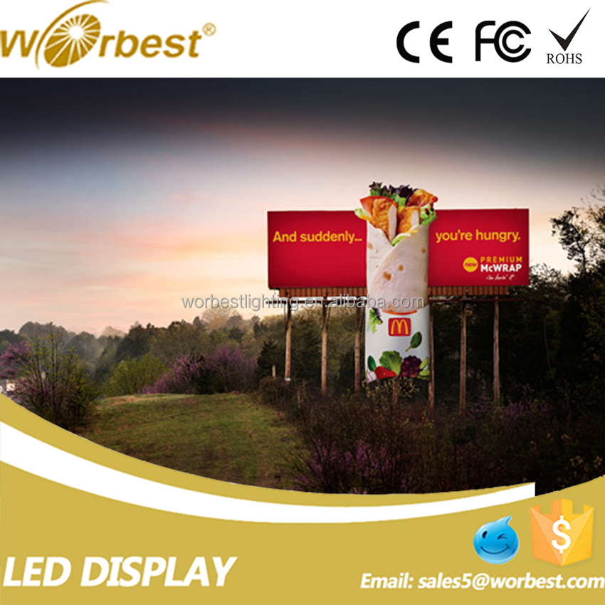 Full Color P10 Outdoor Led Display Screen For Real Estate Agent