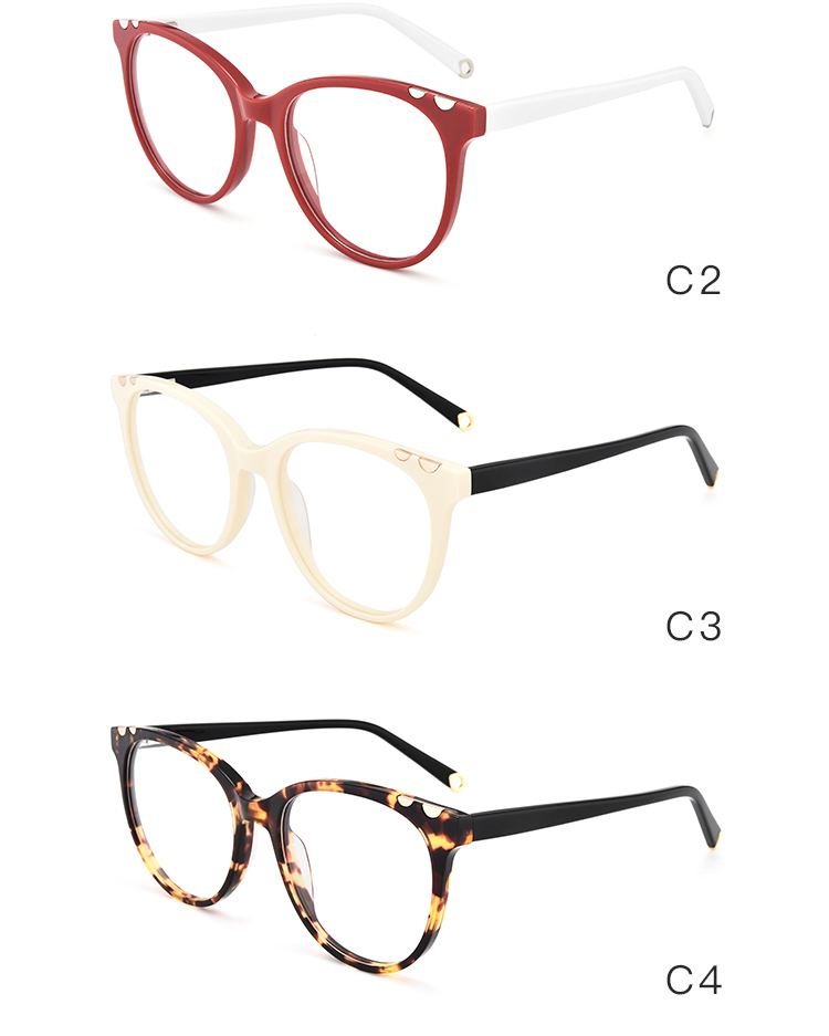 Men Women Vintage Eyewear 2018 cat glasses frame