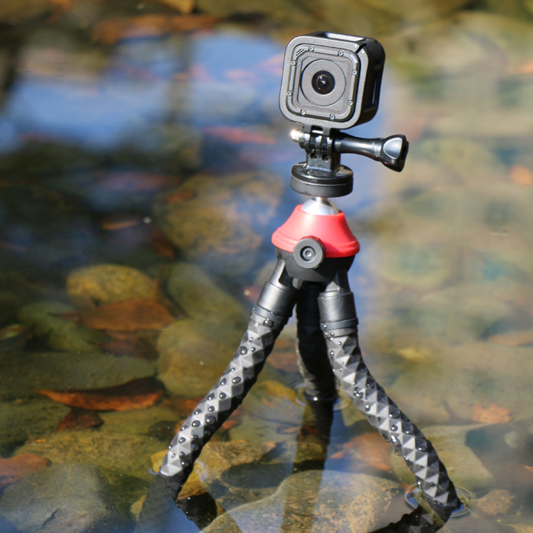 SUNRISE Gorilla Mini Ball Head Flexible Phone Tripod Stand Universal Travel Table Monkey Pro Octopus For Camera Mobile Phone