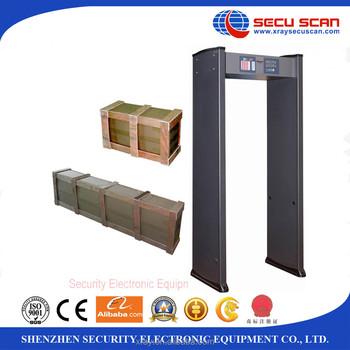 8 Zones Public Security Door Frame Metal Detector At-iiia - Buy Door ...