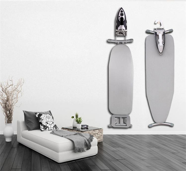 Eisen Folding Mesh Tisch Multi Design Für Und Größe Voller Stahl Falten Wand Faltbare Wäsche Desktop Heraus Von Bügelbrett mit Rad